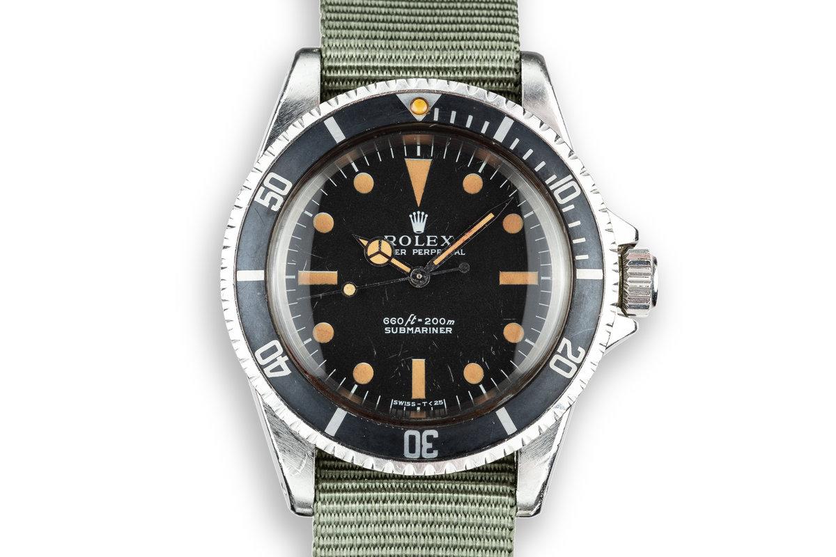 1970 Rolex Submariner 5513 Serif Dial photo, #0