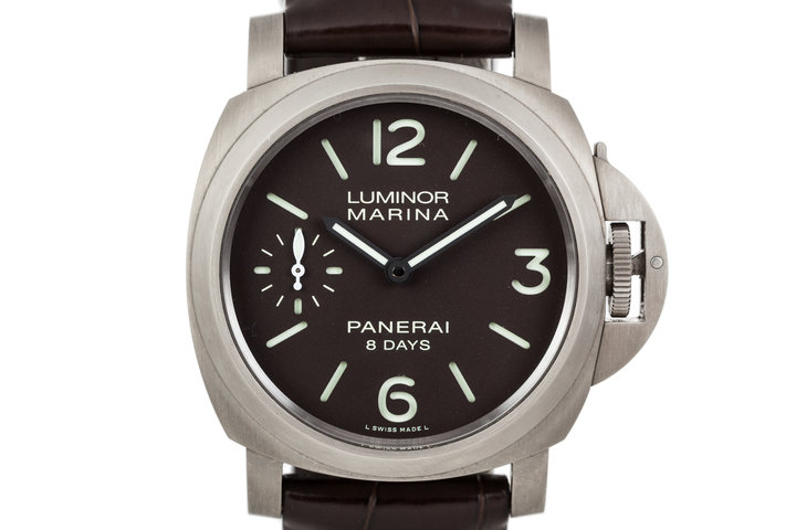 Panerai Luminor Marina 8 Days Ttitanio PAM00564 photo