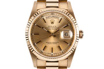 1993 Rolex 18K Day-Date 18238 photo