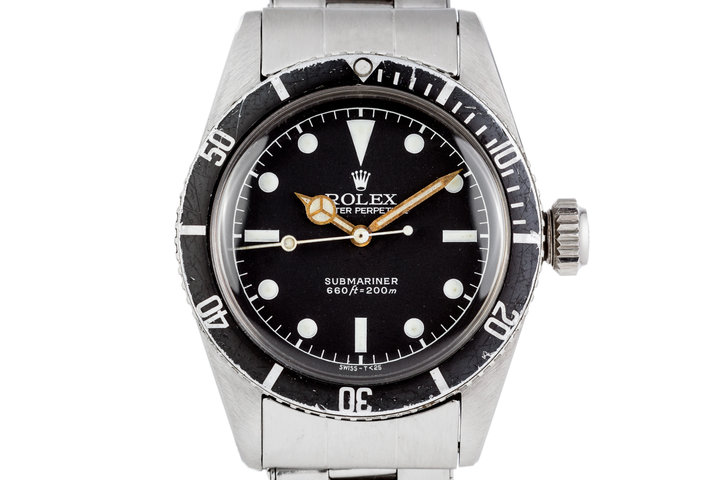 1958 Rolex Submariner 5510 with Service Dial photo
