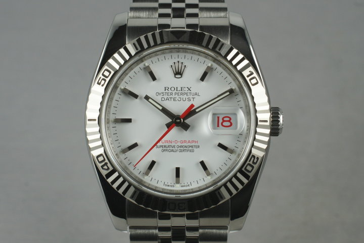 2005 Rolex DateJust 116264 Turn-O-Graph with Original Papers photo