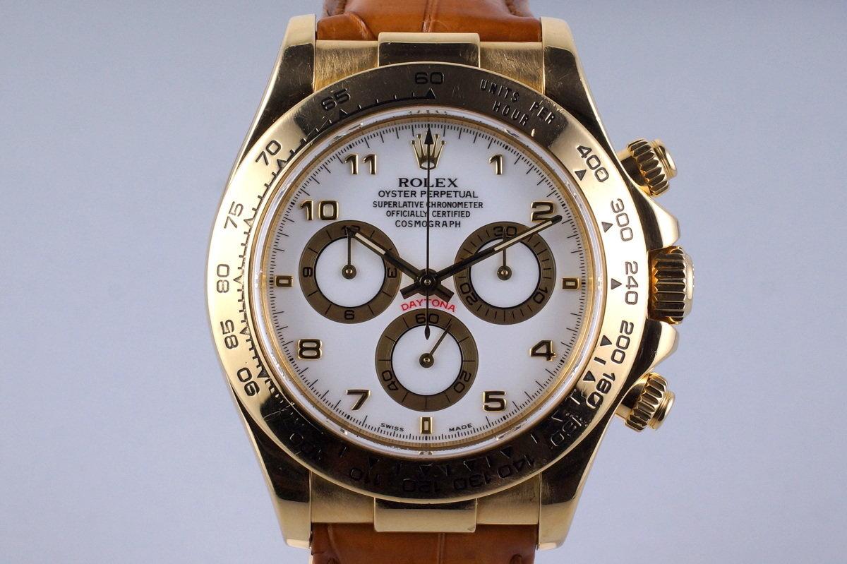 2000 Rolex YG Daytona 116518 photo, #0