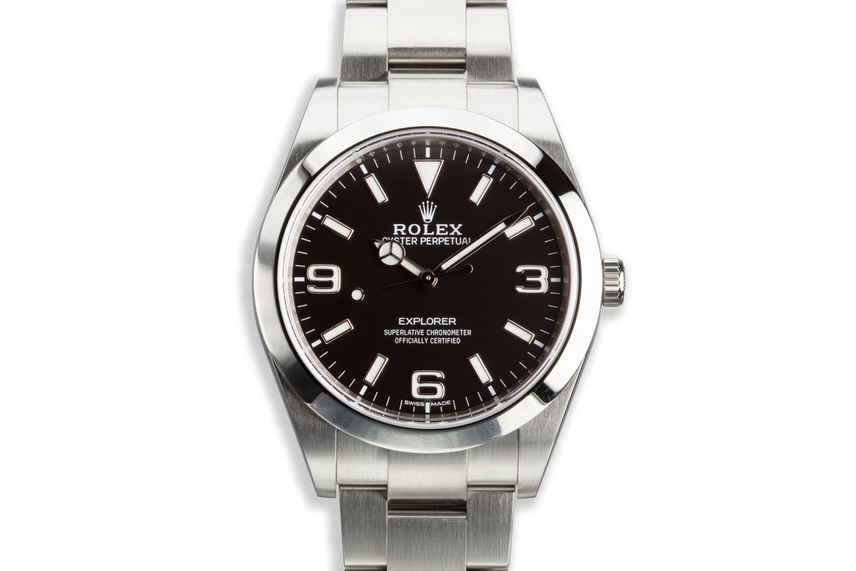 2017 Rolex 39mm Explorer MkII 214270 with Box and Card photo, #0