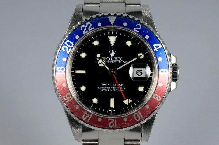 1999 Rolex GMT 16700 photo