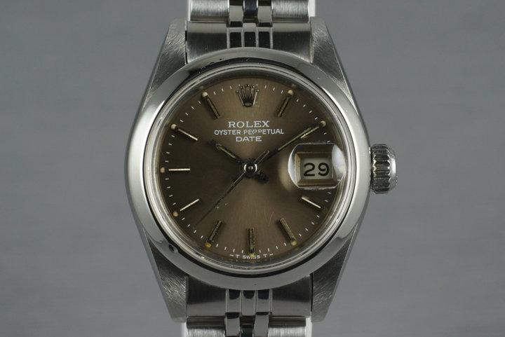 1991 Rolex Ladies Oyster Perpetual Date 69160 photo