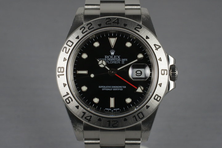 2006 Rolex Explorer II 16570T photo
