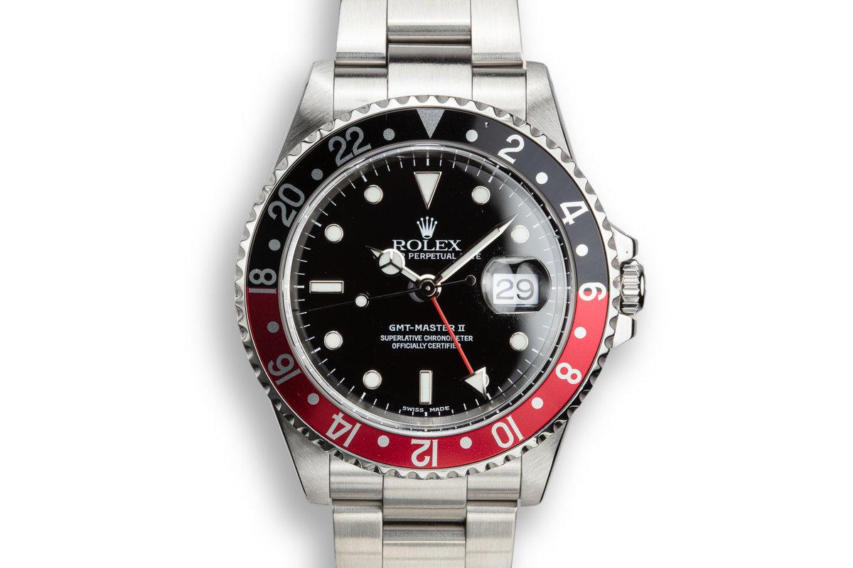 "2000 Rolex GMT-Master II 16710 ""Coke"" photo, #0"