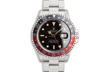 "1991 Rolex GMT-Master II 16710 ""Coke"" Bezel photo"