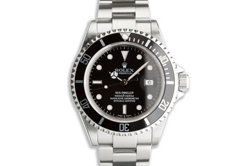 2007 Rolex Sea-Dweller 16600 with Box & Papers photo