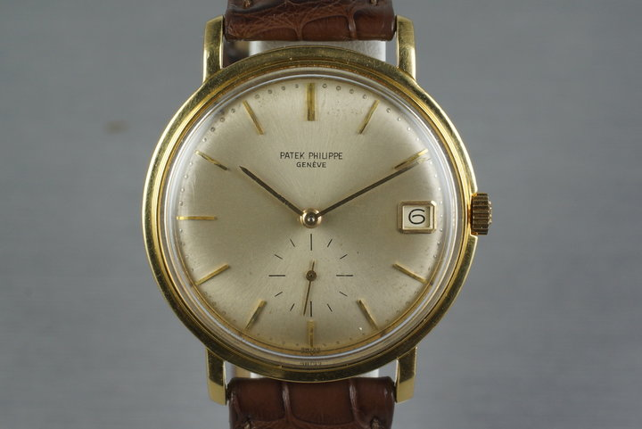 1960's 18K YG Patek Philippe 3445 photo