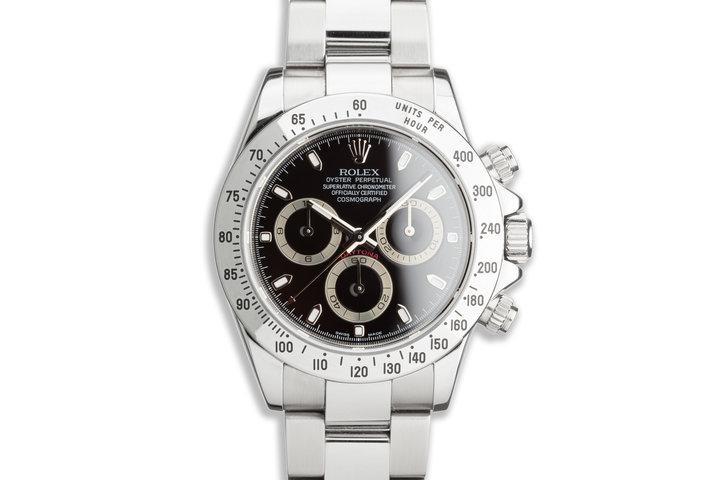 2006 Rolex Daytona 116520 Black Dial with Box and Papers photo
