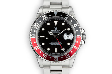 """1993 Rolex GMT-Master II 16710 """"Coke"""" with Box and Papers photo"""