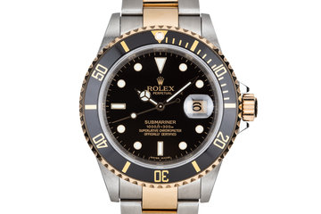 2007 Rolex Two-Tone Submariner 16613 with Box and Papers photo