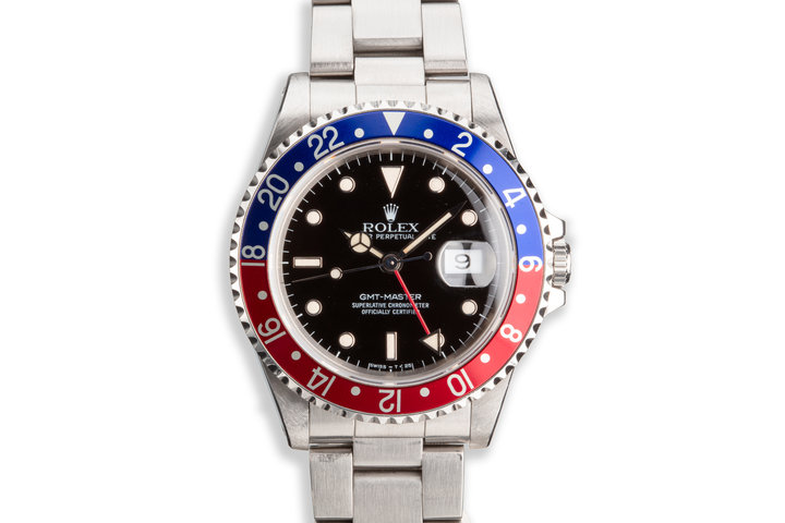 "1989 Rolex GMT-Master 16700 ""Pepsi"" Box and Booklet photo"