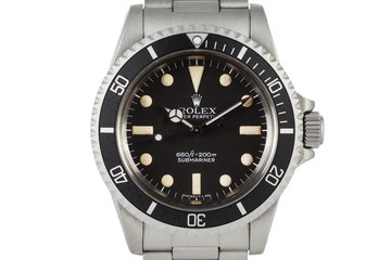 1977 Rolex Submariner 5513 with Mark 1 Maxi Dial photo