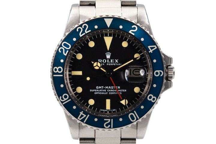 1977 Rolex GMT 1675 Blueberry photo