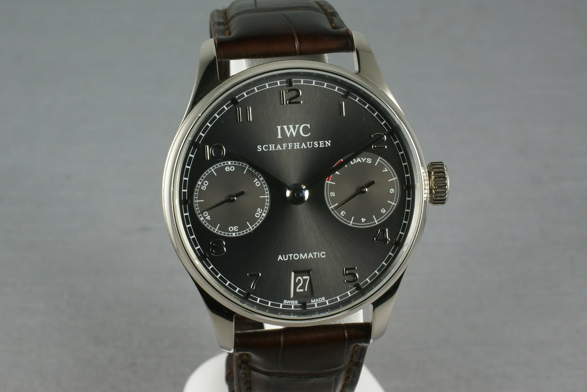 IWC Watches - Portuguese Automatic White Gold 7 day power reserve photo, #0