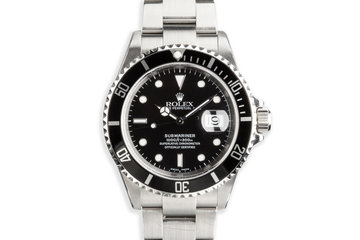 2003 Rolex Submariner 16610 photo