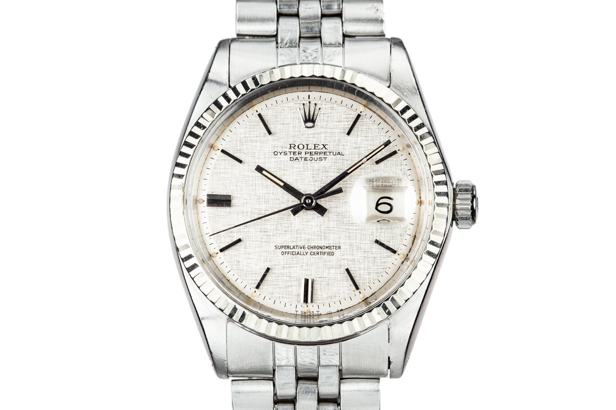 1970 Rolex DateJust 1601 Linen Dial photo, #0