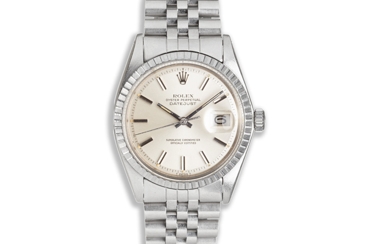 1978 Vintage Rolex DateJust 1603 with Silver Dial photo, #0