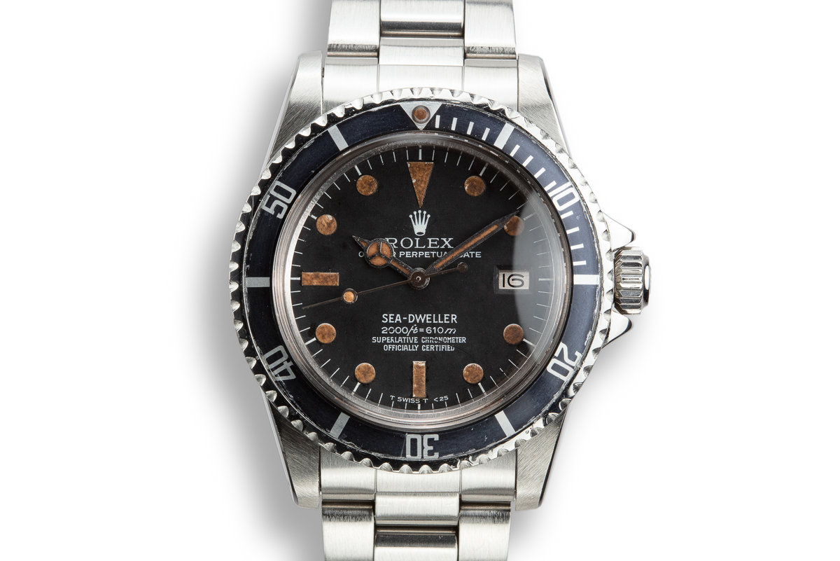 1978 Rolex Sea-Dweller 1665 Rail Dial photo, #0