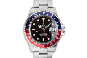 """1998 Rolex GMT-Master 16700 """"Swiss"""" Only Dial photo"""