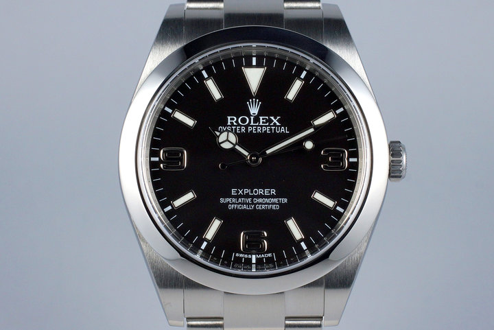 2015 Rolex Explorer 214270 with Box and Papers photo