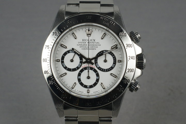 Rolex SS Zenith Daytona 16520 with Box and Papers photo