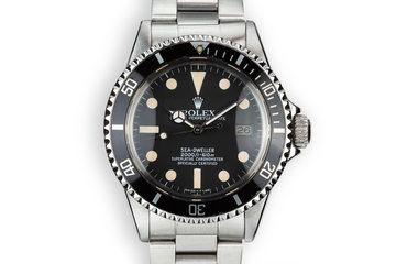 1980 Rolex Sea-Dweller 1665 photo