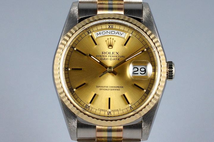 1990 Rolex Day-Date 18239B TRIDOR photo