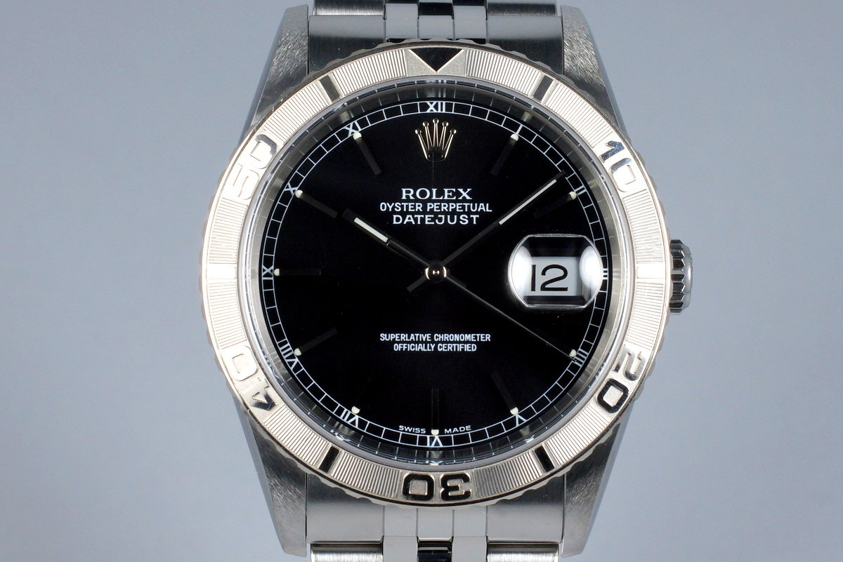 2003 Rolex DateJust 16264 Thunderbird with Box and Papers photo, #0