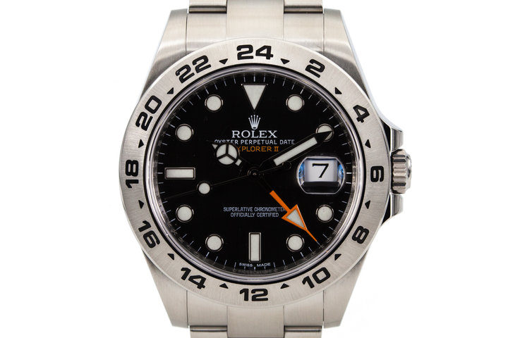 2010  Rolex Explorer II 216570 Black Dial with Box and Papers photo