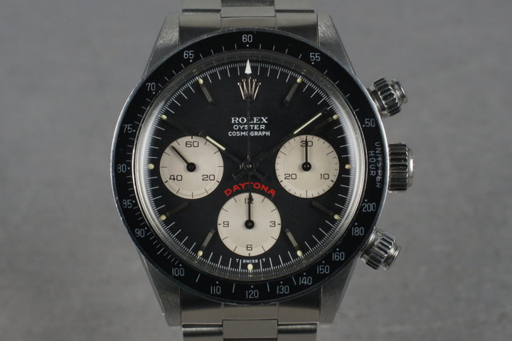 1978 Rolex Big Red Daytona 6263 with Black Dial photo
