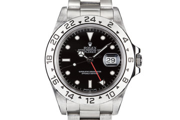 1993 Rolex Explorer II 16570 Black Dial with Box and Papers photo