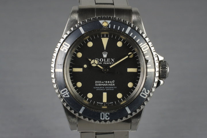 1967 Rolex Submariner 5512 Meters First with Box and Papers photo