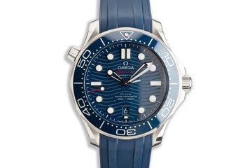 2021 Unworn Omega Seamaster Professional 2103.24.22.003 Box & Card photo