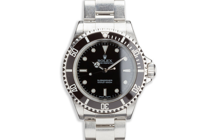 2003 Rolex 14060M Submariner photo