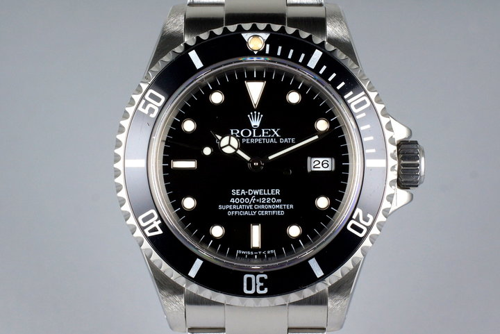 1997 Rolex Sea Dweller 16600 with Box and Papers photo