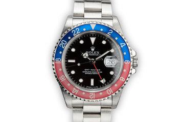 """1991 Rolex GMT-Master 16700 """"Pepsi"""" photo"""