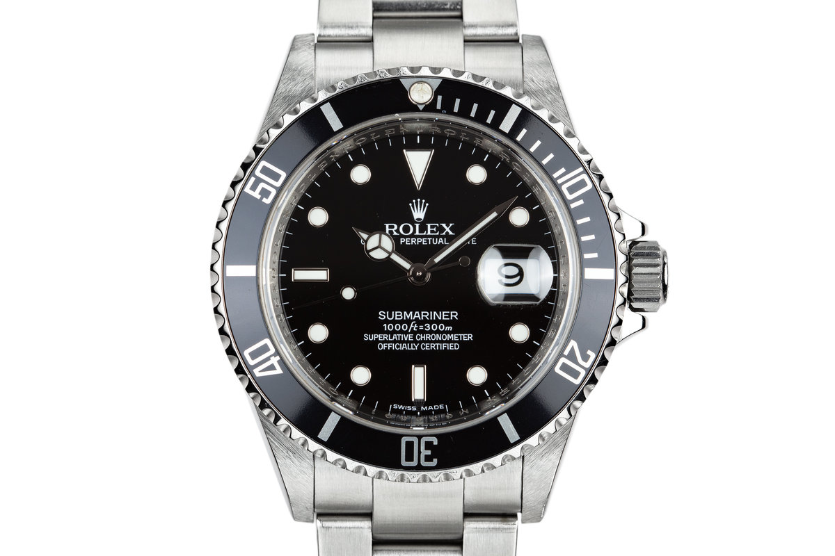 2007 Rolex Submariner 16610 photo, #0