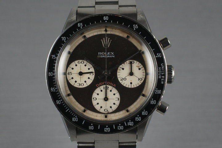 1969 Rolex Daytona 6241 with Paul Newman 3 Color Dial photo