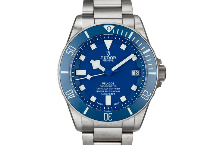 2018 Tudor Pelagos 25600TB Blue Dial with Box and Papers photo