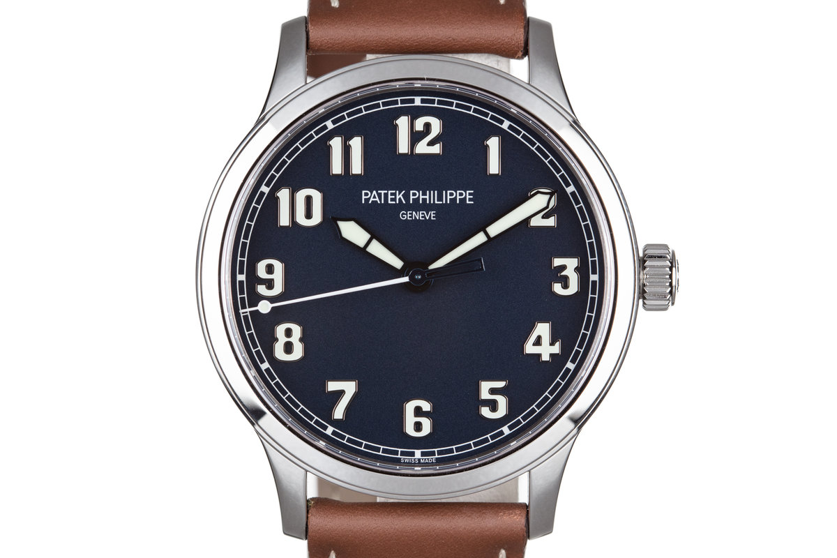 2017 Patek Philippe Pilot Calatrava 5522A-001 with Box and Papers photo, #0