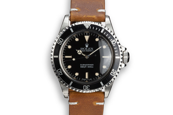 1986 Rolex Submariner 5513 photo