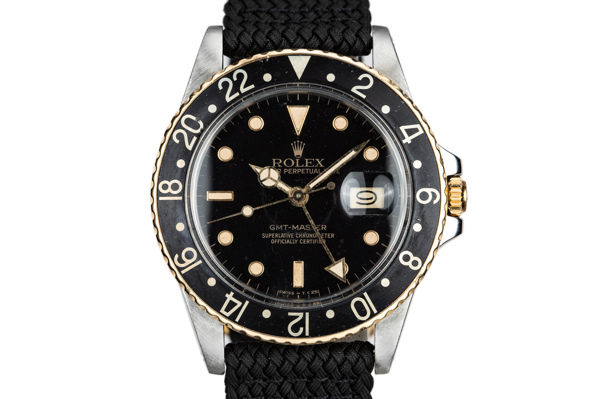 1985 Rolex Two-Tone GMT-Master 16753 photo, #0
