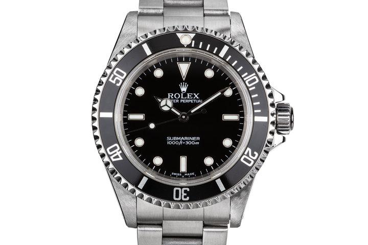 2001 Rolex Submariner 14060M photo