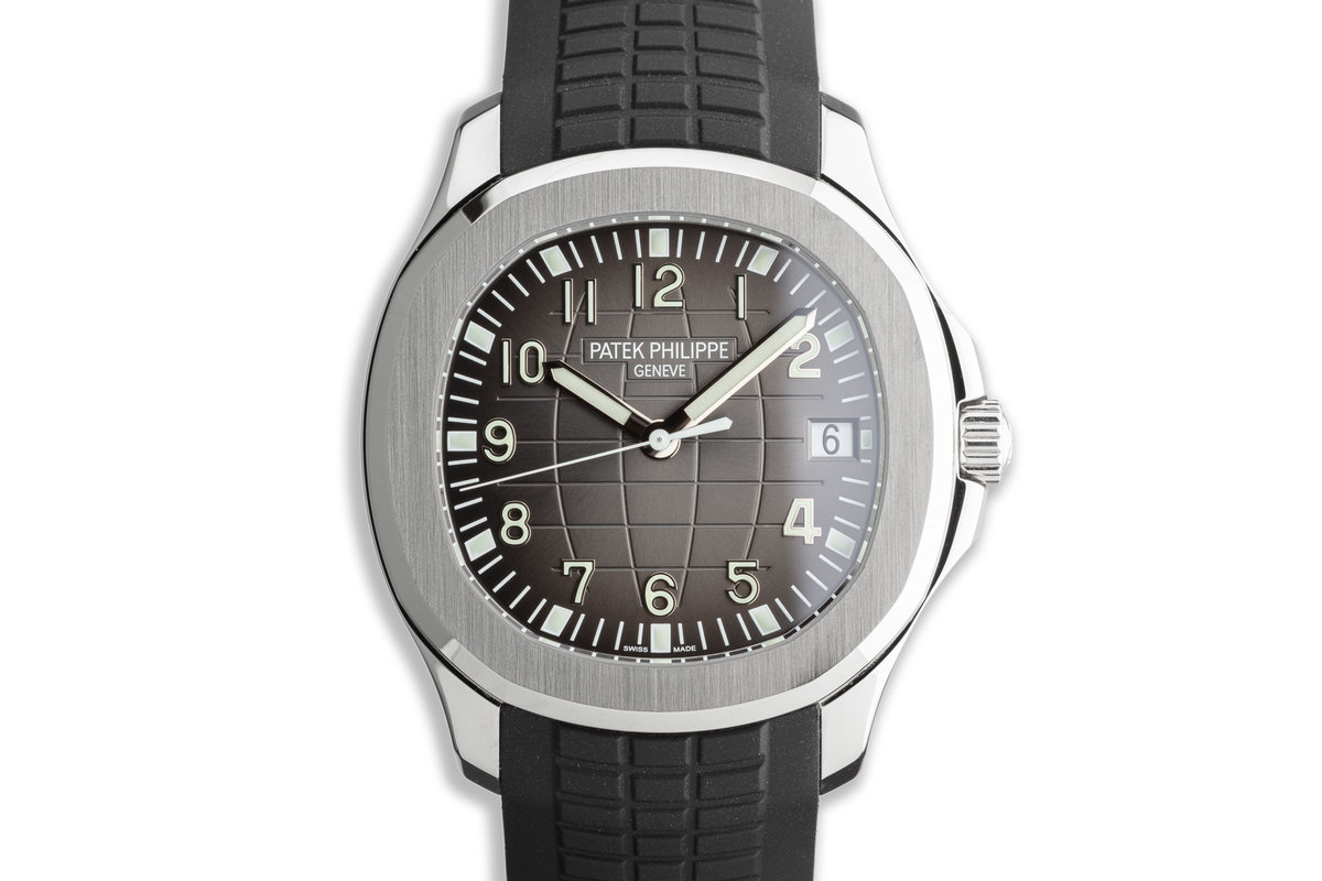 2018 Patek Philippe Aquanaut 5167A-001 with Box and Papers photo, #0