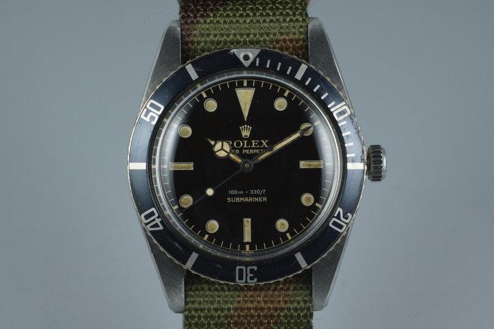 1958 Rolex Submariner 5508 photo