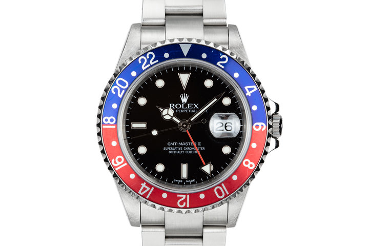 "2002 Rolex GMT-Master II 16710 ""Pepsi"" photo"