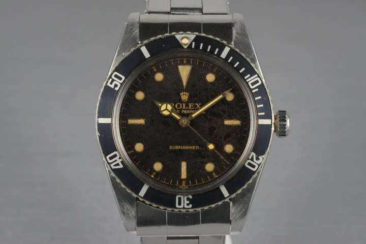1962 Rolex Submariner 5508 Tropical Dial photo